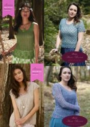 Penelope Camisole, Rosetta Lace Top, Giovana Lace Jumper, Athena