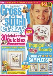 Cross Stitch Crazy №38, 2002