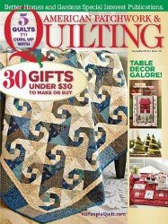 American Patchwork & Quilting - December 2015