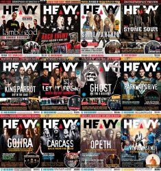 HEAVY MAG - Full Year Collection (2014)