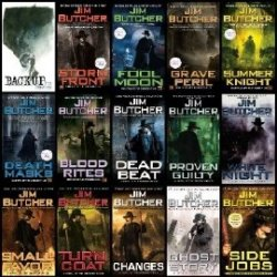 The Dresden Files.16 books and Several Short Stories  (Аудиокнига)