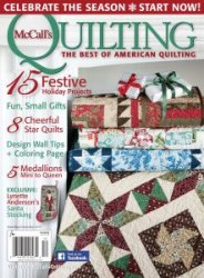 McCall's Quilting Vol.22 2015