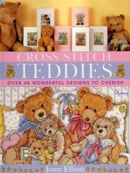 Cross Stitch Teddies