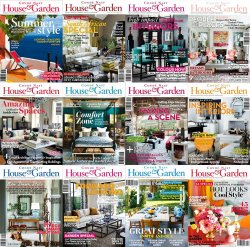 Conde Nast House & Garden - Full Year Collection (2014)