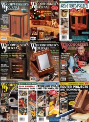 Woodworker's Journal - Full Year Collection (2014)