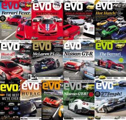 Evo UK Magazine - Full Year Collection (2014)