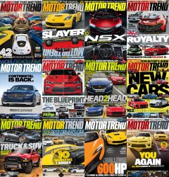 Motor Trend - Full Year Collection (2015)