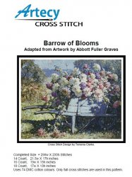 Artecy Cross Stitch - Barrow of Blooms