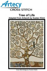 Artecy Cross Stitch - Tree of Life by Gustav Klimt