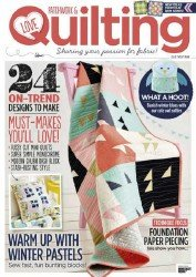 Love Patchwork & Quilting Issue 29  2015