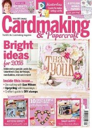 Cardmaking and Papercraft - Issue 152 2016