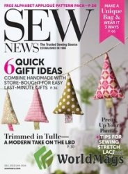Sew News №350 December 2015/January 2016