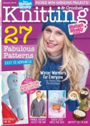 Woman's Weekly Knitting & Crochet -Issue K & C 12 2016
