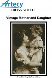 "Artecy Cross Stitch - ""Vintage Mother and Daughter"""