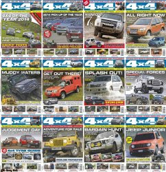 4x4 Magazine - Full Year Collection (2014)