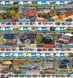 4x4 Magazine - Full Year Collection (2015)