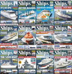 Ships Monthly - Full Year Collection (2014)