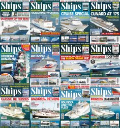 Ships Monthly - Full Year Collection (2015)