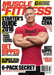 Muscle & Fitness №1 (January 2016) USA