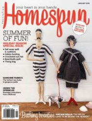 Australian Homespun  �152 January 2016