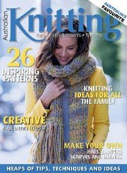 Australian Knitting Volume 8 №1 2016