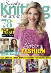 Simply Knitting �145 2016