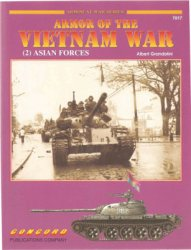 Armor of the Vietnam War (2) Asian Forces (Concord 7017)