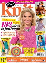 Let's knit №105, May 2016