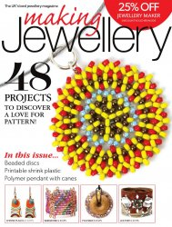 Making Jewellery Issue 88 - January 2016