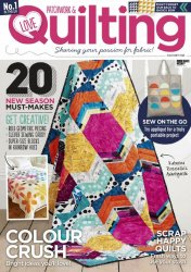 Love Patchwork & Quilting �34 2016
