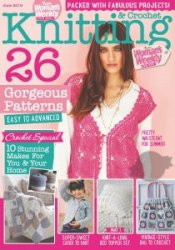 Knitting Crochet from Womans Weekly - June 2016