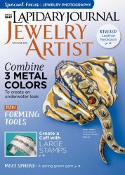 Lapidary Journal Jewelry Artist Vol.70 №2 May/June 2016