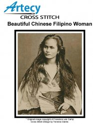 Beautiful Chinese Filipino Woman