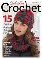 Quick & Easy Crochet - Fall 2015