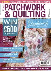 British Patchwork and Quilting, June 2016