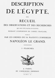 Description de L'Egypte. Volume 1 / Описание Египта. Часть 1