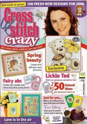 Cross Stitch Crazy №82, 2006