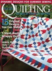 McCall's Quilting - July/August 2016