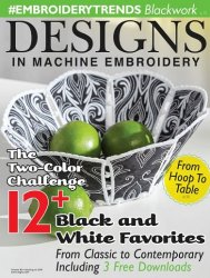 Designs in Machine Embroidery №99, 2016