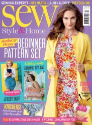 Sew Style & Home № 87 August 2016