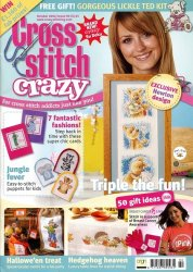 Cross Stitch Crazy №90, 2006
