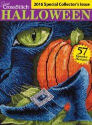 Just CrossStitch Halloween - Issue Special 2016
