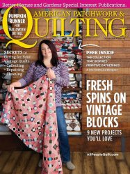 American Patchwork & Quilting №142, 2016
