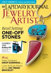 Lapidary Journal Jewelry Artist – August 2016