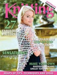 Australian Knitting - Volume8 №3 2016