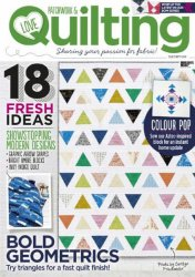 Love Patchwork & Quilting № 38 2016