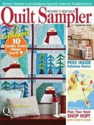 Quilt Sampler  — Fall/Winter 2016