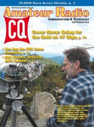 CQ Amateur Radio №9 (September 2016)