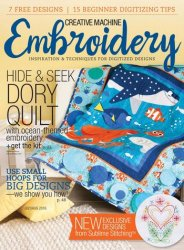 Creative Machine Embroidery Vol.15 �4 2016
