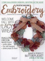 Creative Machine Embroidery Vol.15 �5 2016